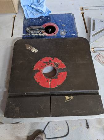 Photo Table For 14quot Vintage Rockwell Delta Milwaukee Bandsaw - $50 (Plano)