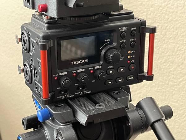 Photo Tascam DR-60DmkII 4-Input  4-Track Multitrack Field Recorder - $120 (Frisco)