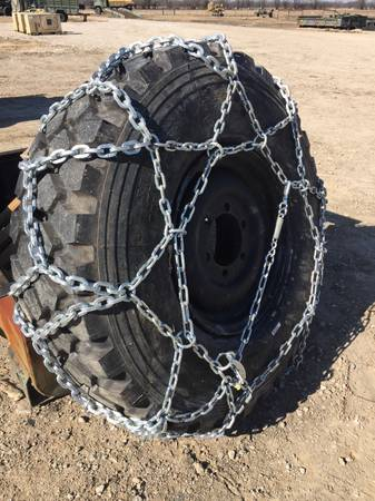 Photo Tire chain Military 44 inch tall New in crate 3658520 - $50 (BELLS)