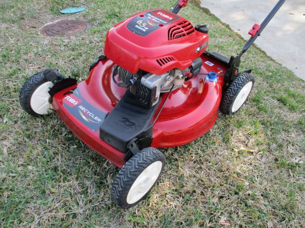Photo Toro Recycler Personal Pace mower - $200 (rockwall)
