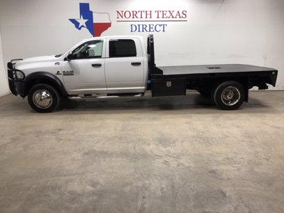 Photo Used 2017 RAM 5500 4x4 Crew Cab for sale
