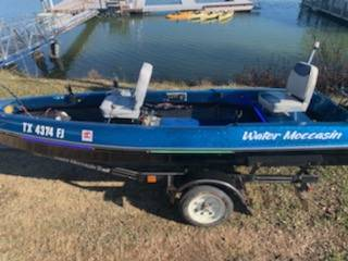 Photo Water Moccasin Boat - $5,500 (West Tawakoni)