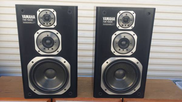 Photo yamaha ns-100x monitors studio speakers very rare - $400 (PLANO TX)