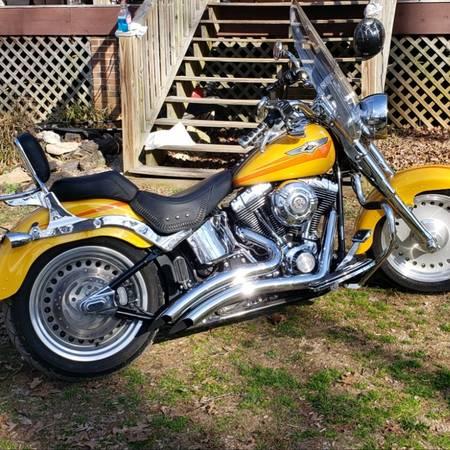 Photo 07 Harley Davidson Fat Boy - $9,500 (Hillsborough)