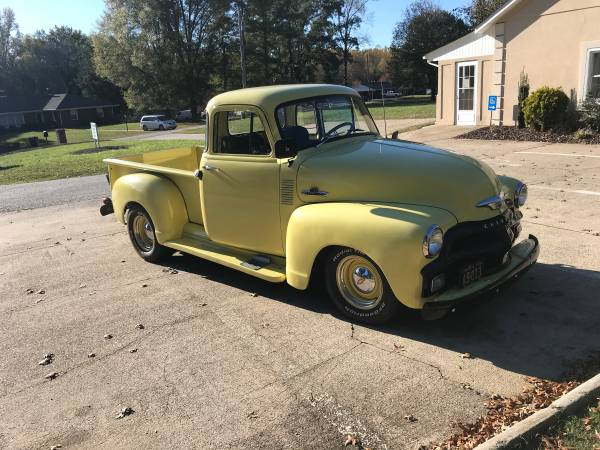 Photo 1954 Chevy pickup 5 window - $17600 (Danville)
