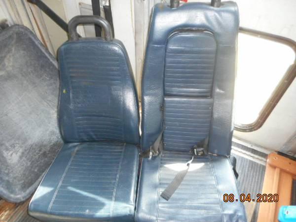 Photo Bus seats - $25