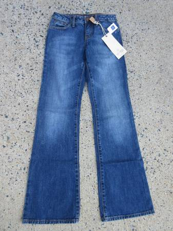 Photo Gap Girls Size 12S Bootcut Jeans - Brand New - $15 (Cary)
