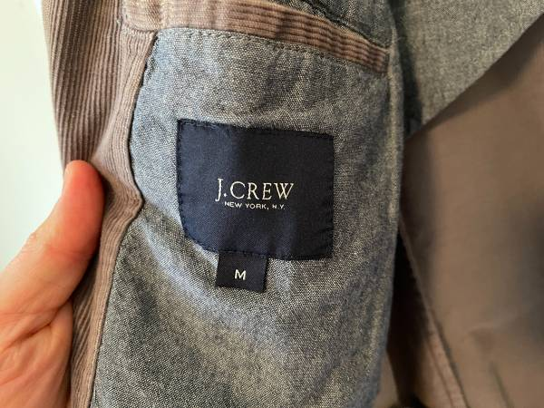 Photo J. Crew corduroy blazer, M - $50 (Raleigh)