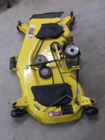 Photo John Deer 48C mower deck - $550 (Skipwith)