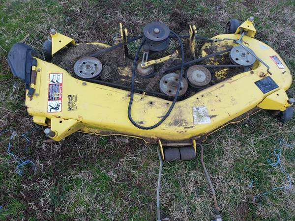 Photo John Deere 54quot Mower Deck - $425 (MArtinsville, VA)