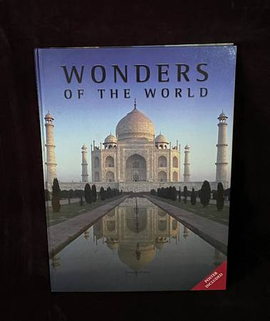 Photo Oversized Coffee Table Book - Wonders of the World - $20 (Danville)
