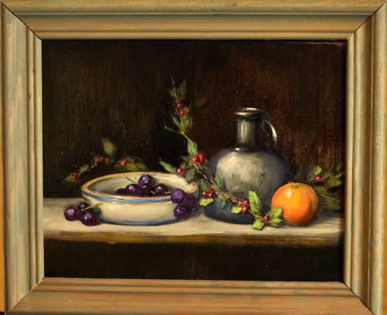 Photo Purchase an original painting today 8x10 - $55 (Oak Ridge)