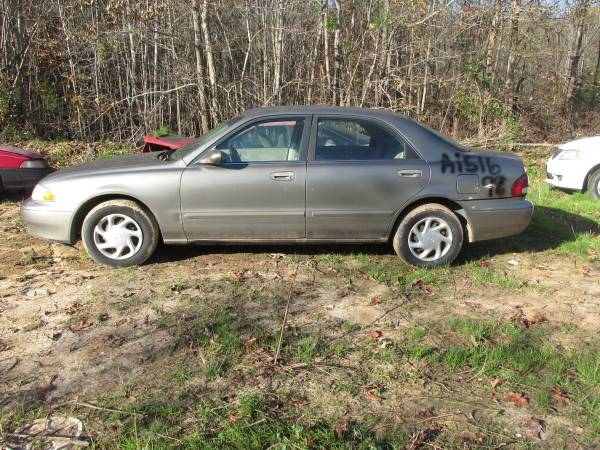 Photo USED PARTS GREY 1998 MAZDA 626 (HALIFAX)