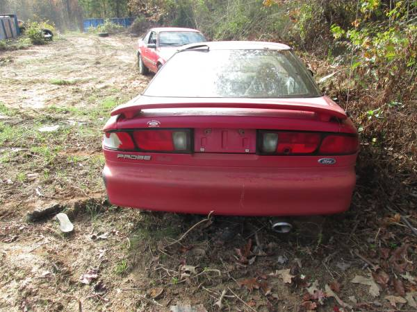Photo USED PARTS RED 1996 FORD PROBE SE (HALIFAX)