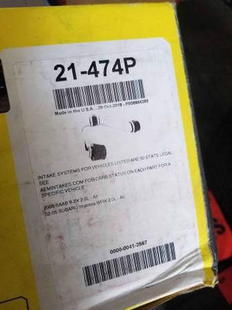 Photo 02-05 Subaru impreza cold air intake - $200 (dayton)