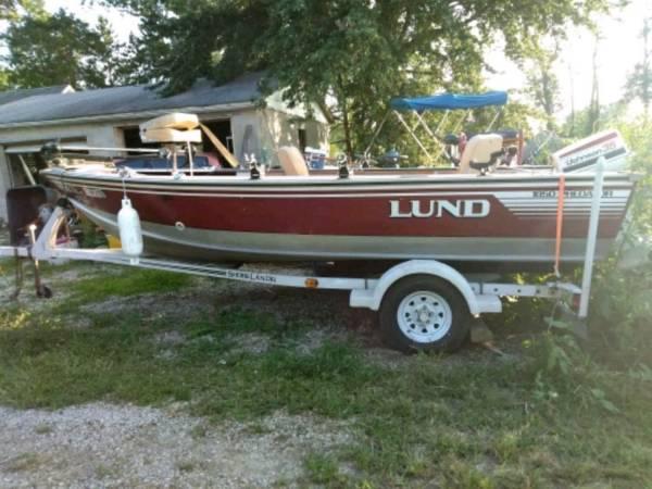 Photo 16ft Lund 9.9 four stroke - $5,200 (Milledgeville)