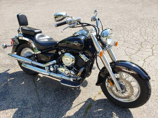 Photo 2000 YAMAHA V-STAR 650 CLASSIC - Only 3200 miles...WOW - $3,599 (Williams Vintage Cycle - Xenia, OH)