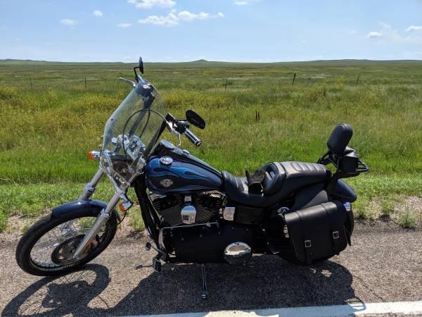 Photo 2012 Harley Davidson Dyna Wide Glide - $8,750 (Lewisburg)