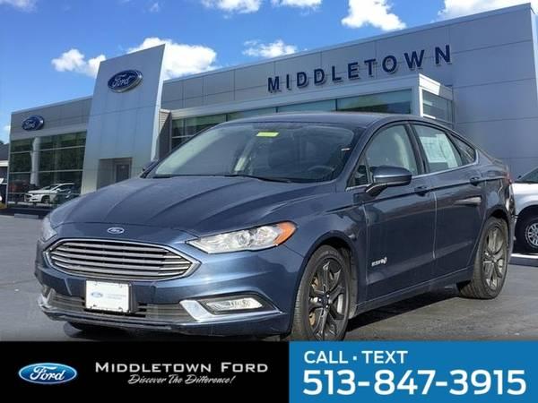 Photo 2018 Ford Fusion Hybrid SE - $15988 (_Ford_ _Fusion Hybrid_ _Sedan_)