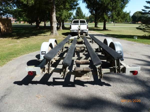 Photo 24 ft galvanized boat trailer - $1,500 (Springfield)