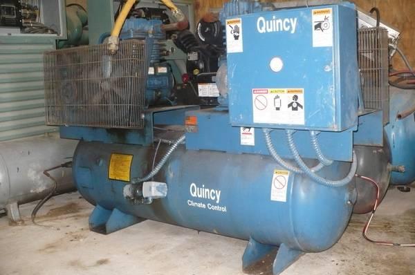 Photo 3 phase air compressor - $1,500 (dayton)