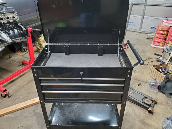 Photo 4 Drawer Tool Cart - $100 (Dayton)