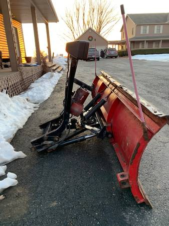 Photo 7 12 foot Western Snow Plow - $1,200 (West Liberty)