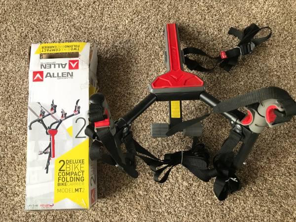 Photo Allen sports bike carrier model MT2 - $30 (Bellbrook)