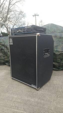 Photo Ampeg 410 cabinet, Hartke 350 watt  - $600 (Dayton)