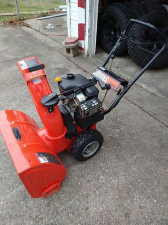 Photo Arines two stage snowblower READY FOR SNOW - $650 (Dayton area)