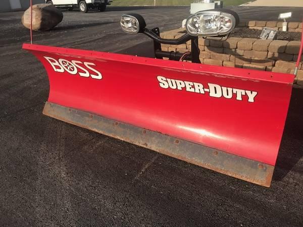 Photo Boss 7396quot Super Duty Snow Plow - $3,495 (Greenville)