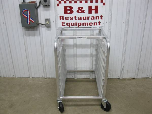Photo Channel Aluminum 8 Slide Sheet Pan Bakery Rack 430A - Never Used - $150 (Clayton, OH)