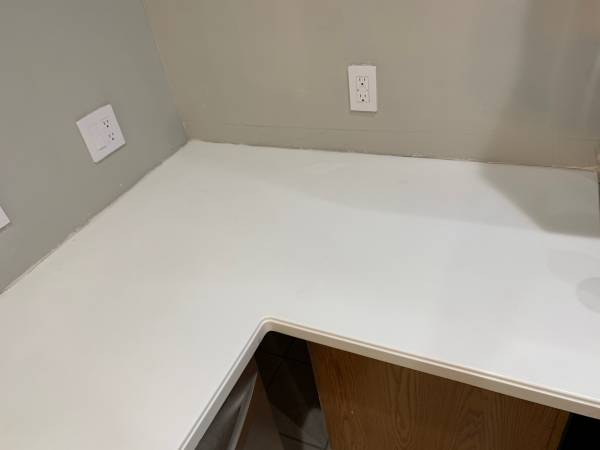 Photo Corian Counter - $300 (Dayton)