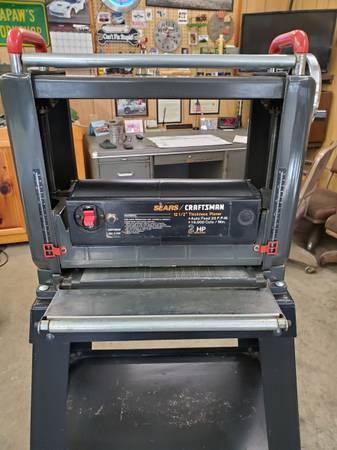 Photo Craftsman 12 12 inch planer - $270 (Lewisburg)