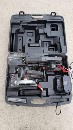 Photo Craftsman 19.2v electric tool set - $80 (Brookville)