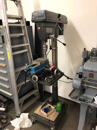 Photo Craftsman Industrial 2HP Drill Press wMill table - $700 (spring valley)