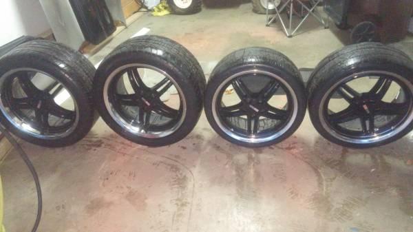 Photo Cray scorpion wheels for c5 corvette - $700 (West alexandria)