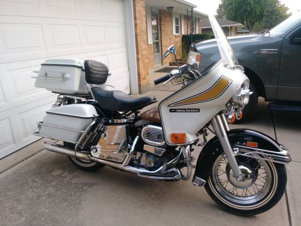 Photo FOR SALE - 1975 HARLEY DAVIDSON FLHS ELECTRO-GLIDE - $12,000 (Butler Twp, ohio)