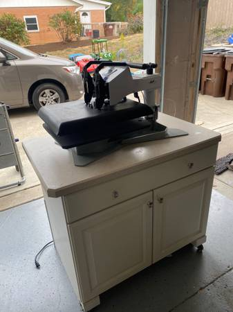 Photo Heat Press - Geo Knight K20S - $650 (Beavercreek)