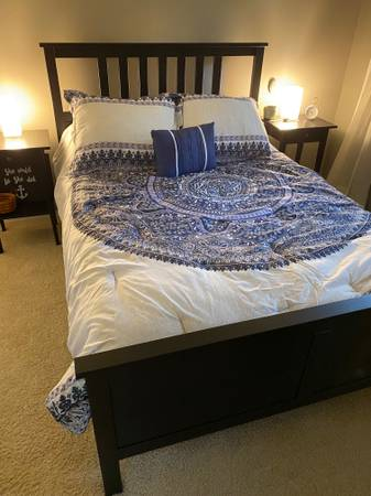 Photo Ikea Hemnes Full Bedroom Set - $350 (Wilmington)