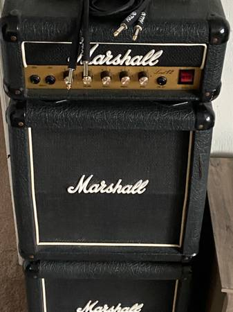 Photo Marshall micro lead 12 with stack - $500 (Tipp city)