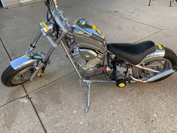 Photo Mini bike chopper - $525 (Fairborn)