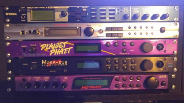 Photo Motif Rack XS, Roland XV 5050,Roland Fantom XR, Yamaha TX81Z,Plus More - $1 (Columbus, OH)