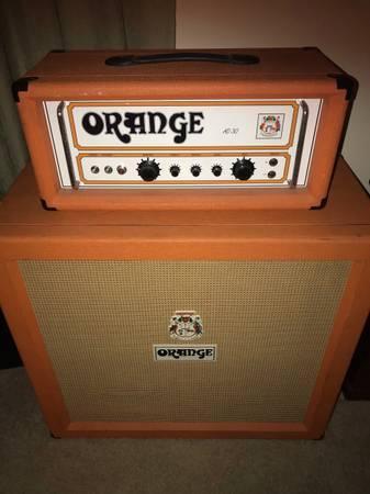 Photo Orange AD-30 Single Channel Head 4x12 Cab (No Trades) - $1,500 (Dayton)