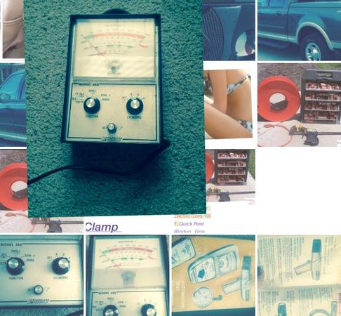 Photo Peerless Auto Dwell Voltage Meter - $600 (Troy)