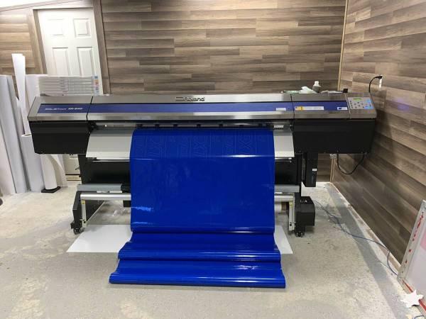 Photo Print Shop - Roland XR640  Screen Printing Equipment - $30000