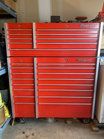 Photo Snap-On Tool Box - $5000 (Dayton)