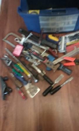 Photo Tool box with Tools - $30 (Springfield)