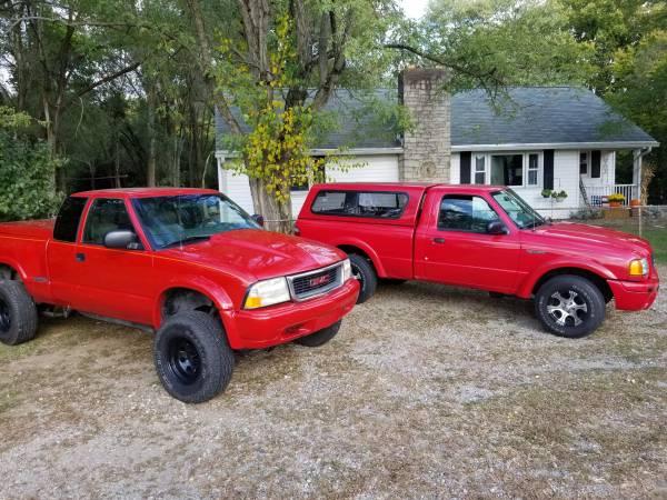Photo Trucks Gmc Sonoma  2003 Ranger 130k orig - $3,600 (Middletown)
