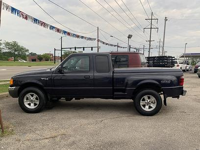 Photo Used 2002 Ford Ranger 4x4 SuperCab XLT for sale